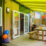 Terrasse Mobil-Home Family Espace Privilège - Camping Pays Basque