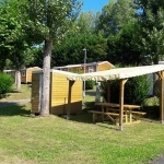 Exemple d'emplacement Privilège - Camping Anglet
