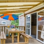 Terrasse Small Family - Camping Bela Basque